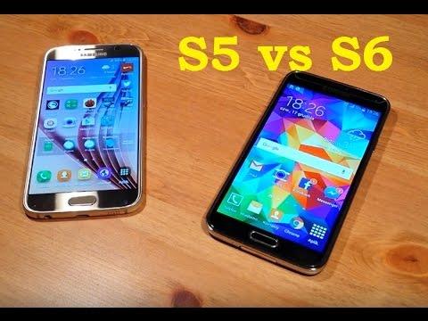 Samsung Galaxy S6 vs S5 Porównanie PL