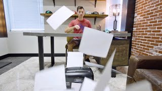 Real Life Trick Shots Bloopers   Overtime 8   Dude Perfect