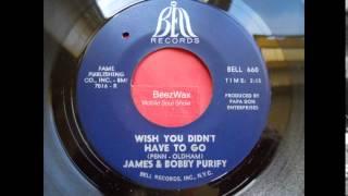 james & bobby purify - wish you didn