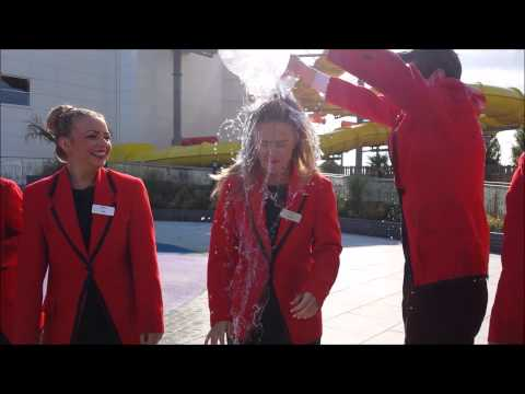 Butlins Skegness Redcoats complete the ALS Ice Bucket Challenge
