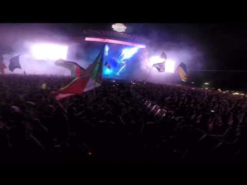 Skrillex @Sziget Festival 2014 - Cinema (Ending)