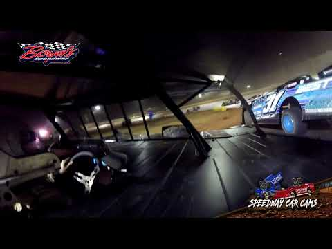 #117 Morgan Alexander - Sportsman - Heat & Feature - 2-2-20 Boyds Speedway Cabin Fever - In-Car Cam