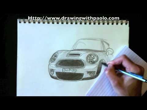 Dessiner Une Mini Cooper Avec Paolo Morrone Youtube