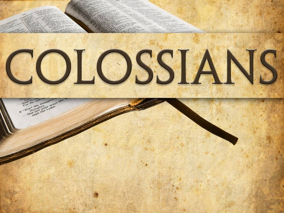 Bible Gateway passage: Colossians 1 - Names of God Bible