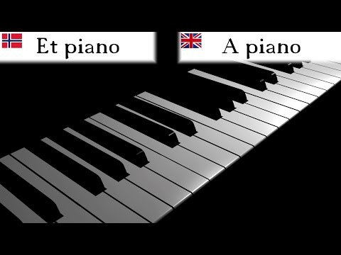 Music Instruments | Learn Norwegian Vocabulary