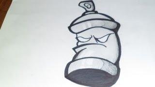Dibujo de Spray | Graffiti | ZaXx