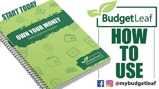BudgetLeaf - How To Use - As seen on CVM TV