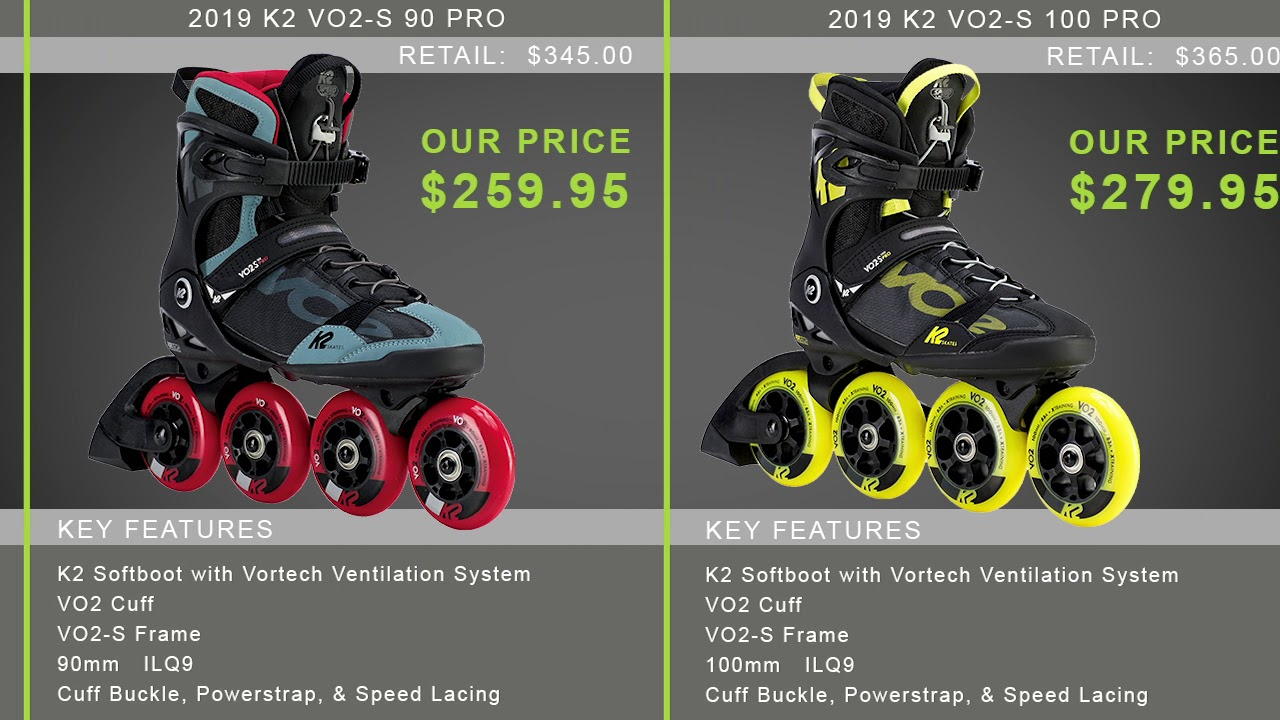 2019 K2 Men S Inline Skate Buying Guide By Inlineskatesdotcom Youtube