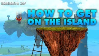 [Roblox] Booga Booga: HOW TO GET ON THE FLOATING ISLAND (OLD GOD INFINITE XP)
