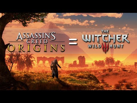 Assassin's Creed Origins = The Witcher 3 Ripoff..ntly
