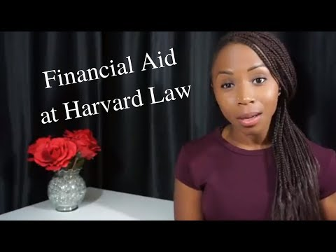 Financial Aid at Harvard Law School