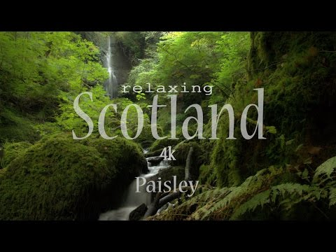 Relaxing Scotland 4K - Paisley