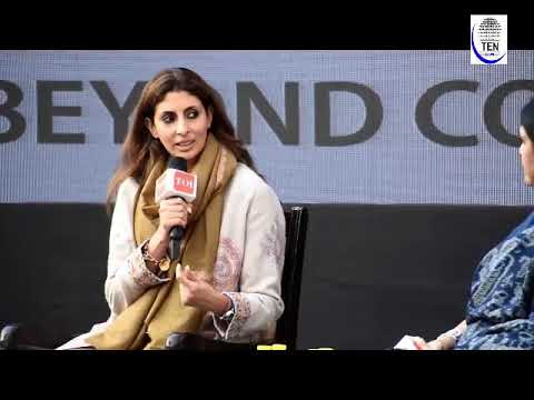 Times Litfest 2018: Shweta Bachchan Speaks about her new boo