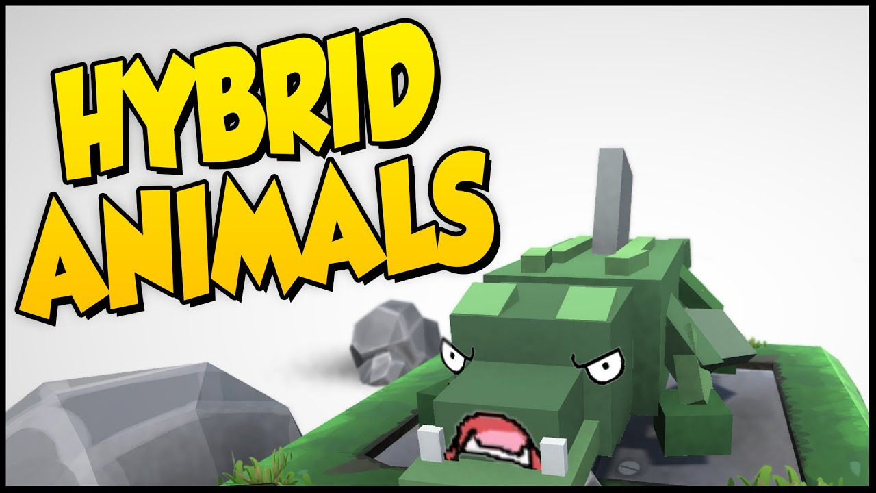 Hybrid Animals ➤ NEW MAP! I'm Unstoppable! Dragon's Breath Is OP! Abandoned  Colony Gameplay