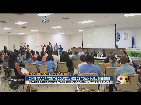 Cincy NAACP Youth Council holds Town Hall meeting