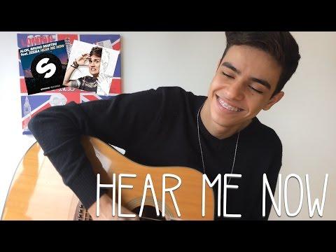 ALOK BRUNO MARTINI feat ZEEBA - Hear Me Now Cover by Natan Coelho