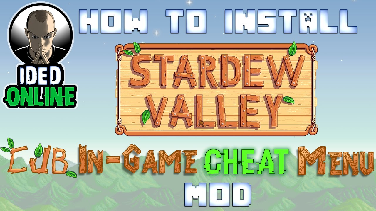 how to delete mods from stardew valley