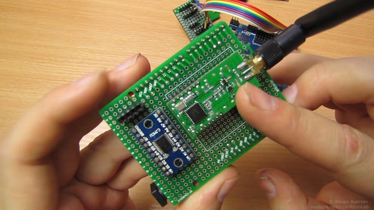 Радиомодули LoRa SX1278, Подключение к Arduino и небольшой тест