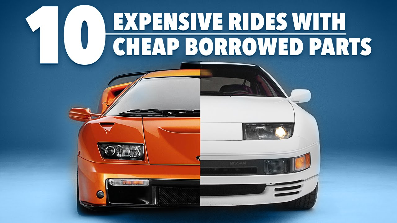 Expensive Rides With Parts Borrowed From Cheap Cars YouTube - Cheap cars