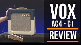 Vox AC4 C1 TV  Limited Edition Amp Review Guitar Interactive Magazine