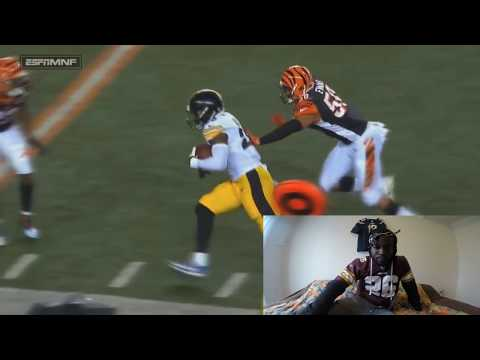 NFL Worst Effort Plays Reaction... ALBERT HAYNESWORTH LAYED THERE FOR 30MINUTES HAHA