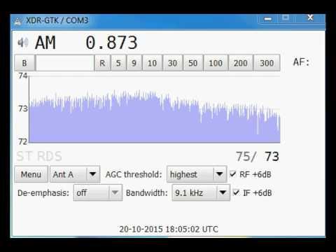 [MW] 873 kHz - Radio Moldova Actualităţi - Chişinău/Costiujeni - Moldova - 514 km (2)