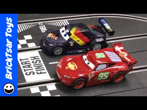 Carrera Digital 132 Slot Cars HAUL + Racing Lightning McQueen vs Max Schnell
