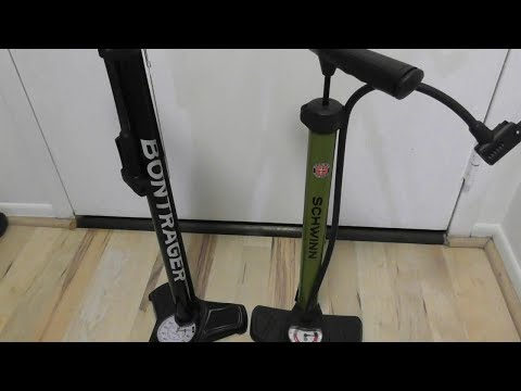 Bontrager Charger Floor Pump bicycle tire inflator by Trek REVIEW SETUP