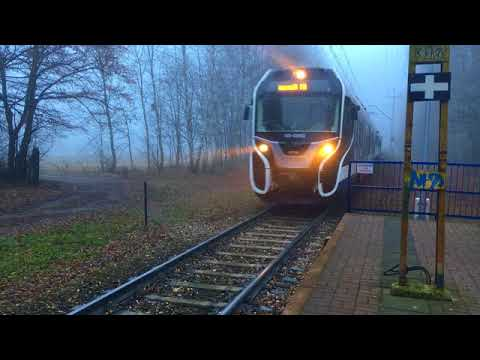 ┃波蘭交換。華沙城市小火車 ┃City Train In Warsaw: Kolej WKD