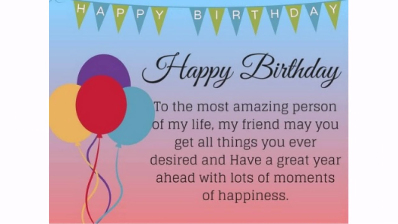 Birthday quotes for best friend | 23 Birthday Wishes for Friends ...