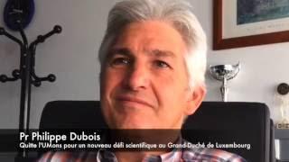 Pr Philippe Dubois (UMons) : nouveau défi scientifique au GD de Luxembourg