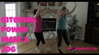 Walking Exercise - Free Full Length 30-Minute Indoor Interval Walk/Jog