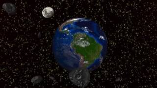 How Earth looks from outer space, VR 360 video, или Как выглядит Земля из космоса.