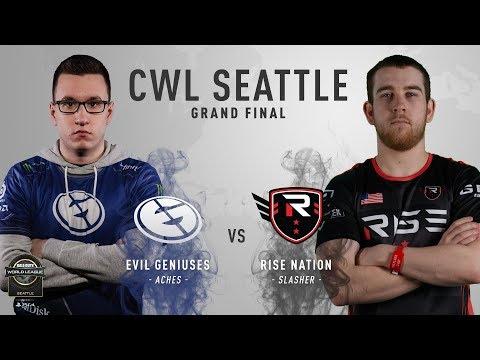 Rise Nation vs Evil Geniuses BO5#1 | CWL Seattle Open 2018 | Grand Finals