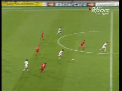 Milan 3-0 Liverpool. Crespo scored second goal.avi