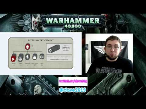 Warhammer 40k 8th Edition New Detachments!