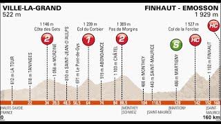 Giro del Delfinato 2014 7a tappa Ville la Grand-Finhaut Émosson (161 km)