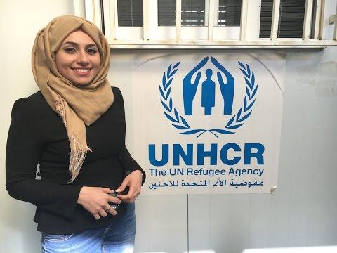 لجوء ؟ لاجىء ؟ انسان ! - الجزء الاول #زينب_العقابي UNHCR