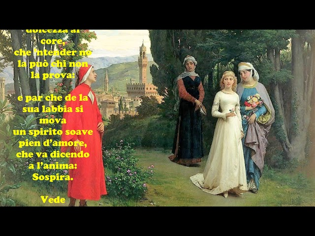 Dante Alighieri: TANTO GENTILE E TANTO ONESTA PARE - Le videopoesie di Gianni Caputo