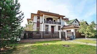 Купить дом в Антоновке в стиле хай-тек под ключ с мебелью