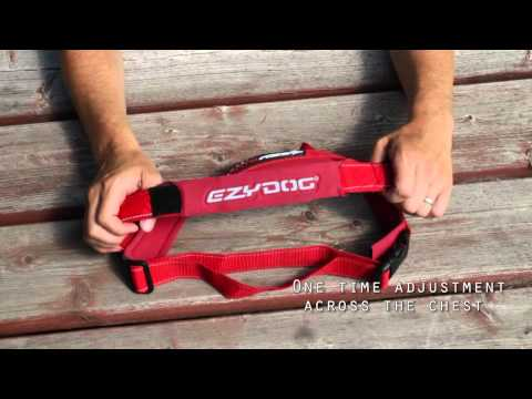 EzyDog QuickFit Dog Harness - Simple Support