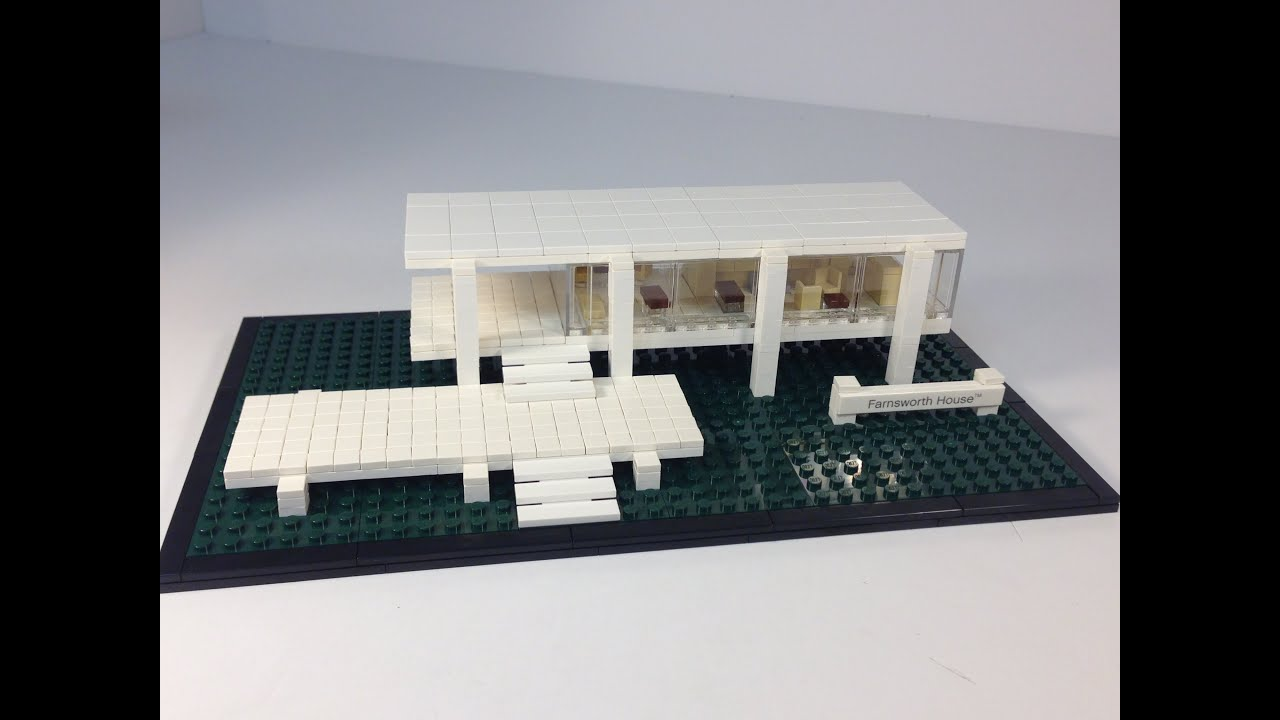 LEGO Architecture 21009 Farnsworth House from 2011  YouTube