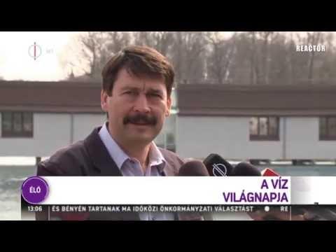M1 híradó - Áder János és a remegő kezű riporter (R)