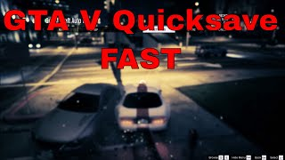 Grand Theft Auto V PC - How to Quicksave - Save Time on Those Stunt Attempts