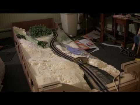 N Gauge Folding Model railway Part 6