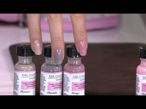 Perfect Formula Pink Gel Coat 6-Pc Manicure Kit with Jill Bauer