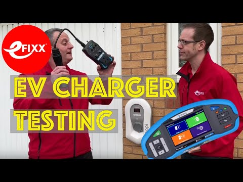 How To Test An EV Charger Installation To BS7671 Using The Metrel 3152 & A1532 EVSE Adaptor