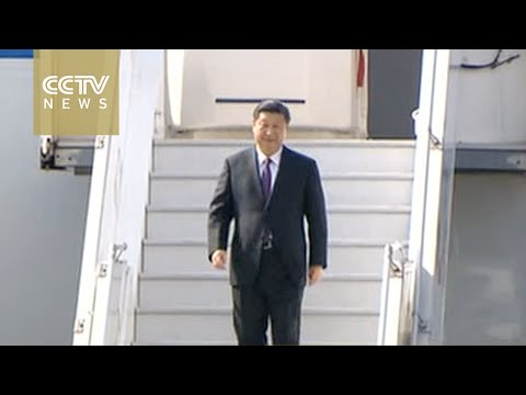 Xi Jinping arrives in Prague for state visit to the Czech Republic