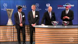 Uefa Europa League 2013 Semi-Final Draw 12-04-2013