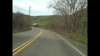 Motorcycle Ride on Norris Canyon Rd., San Francisco East Bay Area